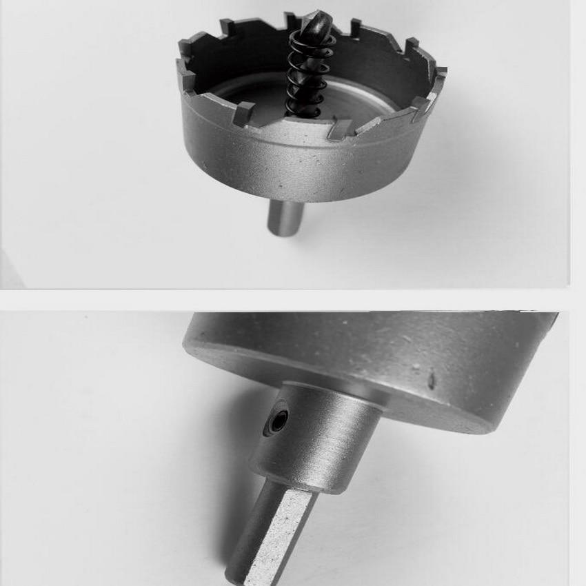 1 PC diameter 63-100 mm bereik TCT stalen gatenzaagkern voor staal - Boor - Foto 3