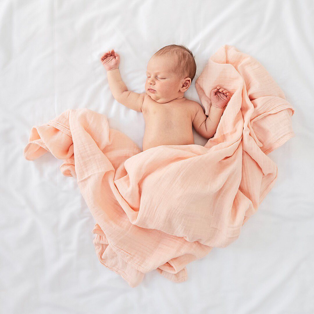 Organic Cotton Baby Swaddling Newborn Baby Muslin Wrap Muslin Blanket Cot Bed Baby Cribs Bedding Nursery Baby Room Bag Nesting