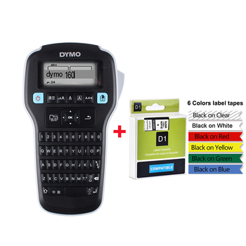 LM160 Label Maker Machine For Dymo D1 12mm 45013 40913 Label Tape Hand-held Portable Label Printer LMR-160 Stickers Prin