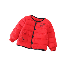 2019 Winter Fleece Parks; New ChildrenS Warm Jackets For Girls And Boys; Thick Velvet Baby Coat; Outerwear Coat Babies
