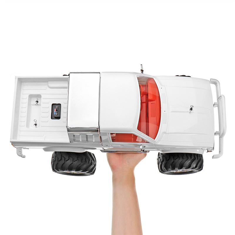 HG P407 RC รถ 2 เปลือกหอย 1/10 2.4G 4WD Crawler สำหรับ TOYATO โลหะ 4X4 รถกระบะ RTR ของเล่น DIY สำหรับเด็ก