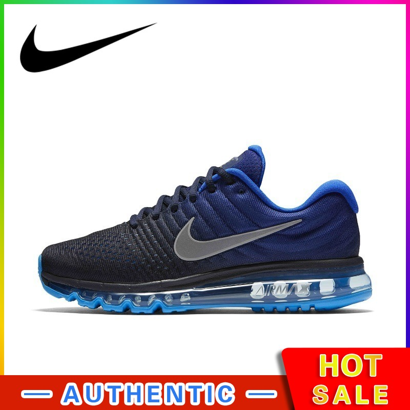 Nike AIR MAX Men's Running Shoes Original Authentic Classic Fashion Outdoor Sports Breathable Shock Absorber 2019 New 849559-401