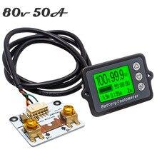 Coulomètre de batterie 50a, testeur de batterie de précision, professionnel TK15, pour compteur Coulomb LiFePo, livraison gratuite, DC8 80V