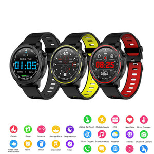 Модные Смарт-часы L8 IP68 Водонепроницаемые Смарт-часы Muliti-спортивные мужские и женские Смарт-часы ЭКГ PPG Здоровье Спорт браслет сердечного ри...