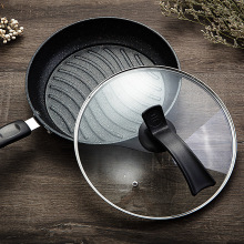 Maifan stone frying pan household non-stick pan frying steak egg pancake pan induction cooker gas stove universal maifan stone oil free non stick pan frying pan frying pan wok gas stove induction cooker universal