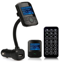 LCD Mobil Kit MP3 Bluetooth Player Usb Mobil Pemantik Rokok Charger Fm Transmitter Modulator SD MMC 5 V/2.1A(China)