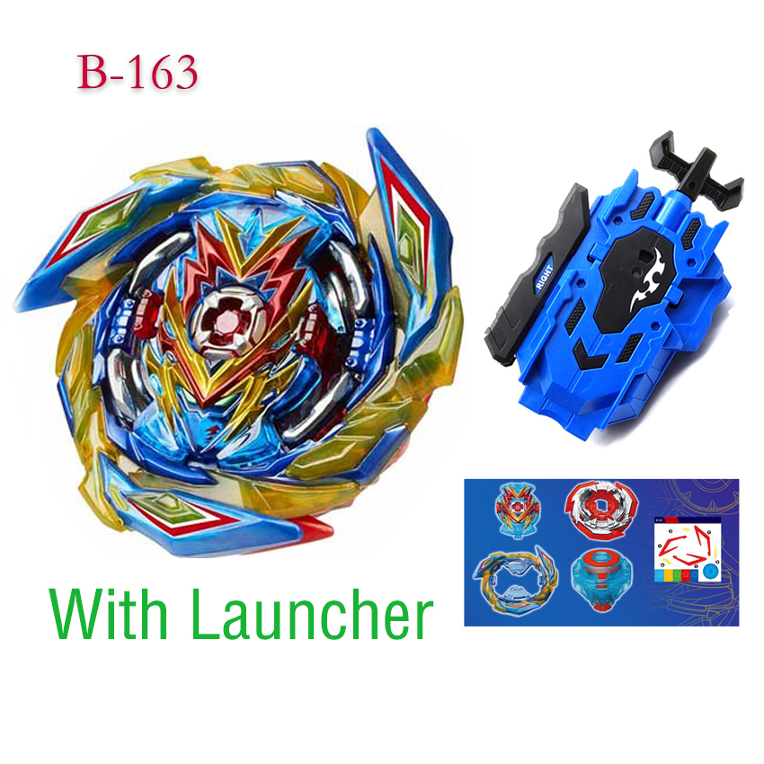 All Models Launchers Beyblades Burst B-165 B-164 B-163 GT Toys Arena Metal God Fafnir  Blade Blade Toy