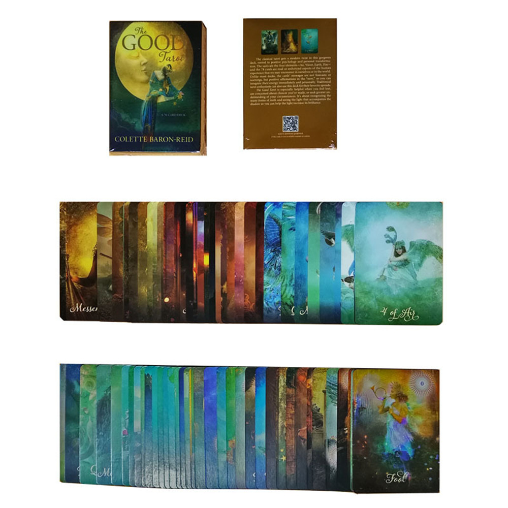 2020 New Original English Oracle The GOOD Tarot Card Deck Tarot Divination Fate Tarot For Personal Use Board Card Game 78pcs