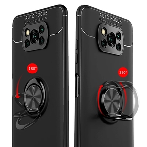 Image 2 - Poco X3 NFC カバー、保護ガラス + ケースでリング Xiaomi Poco X 3 Poco X3 Pro ケーススクリーンプロテクター Xiaomi Poco X3 ケース Poco X3 Case + Glass