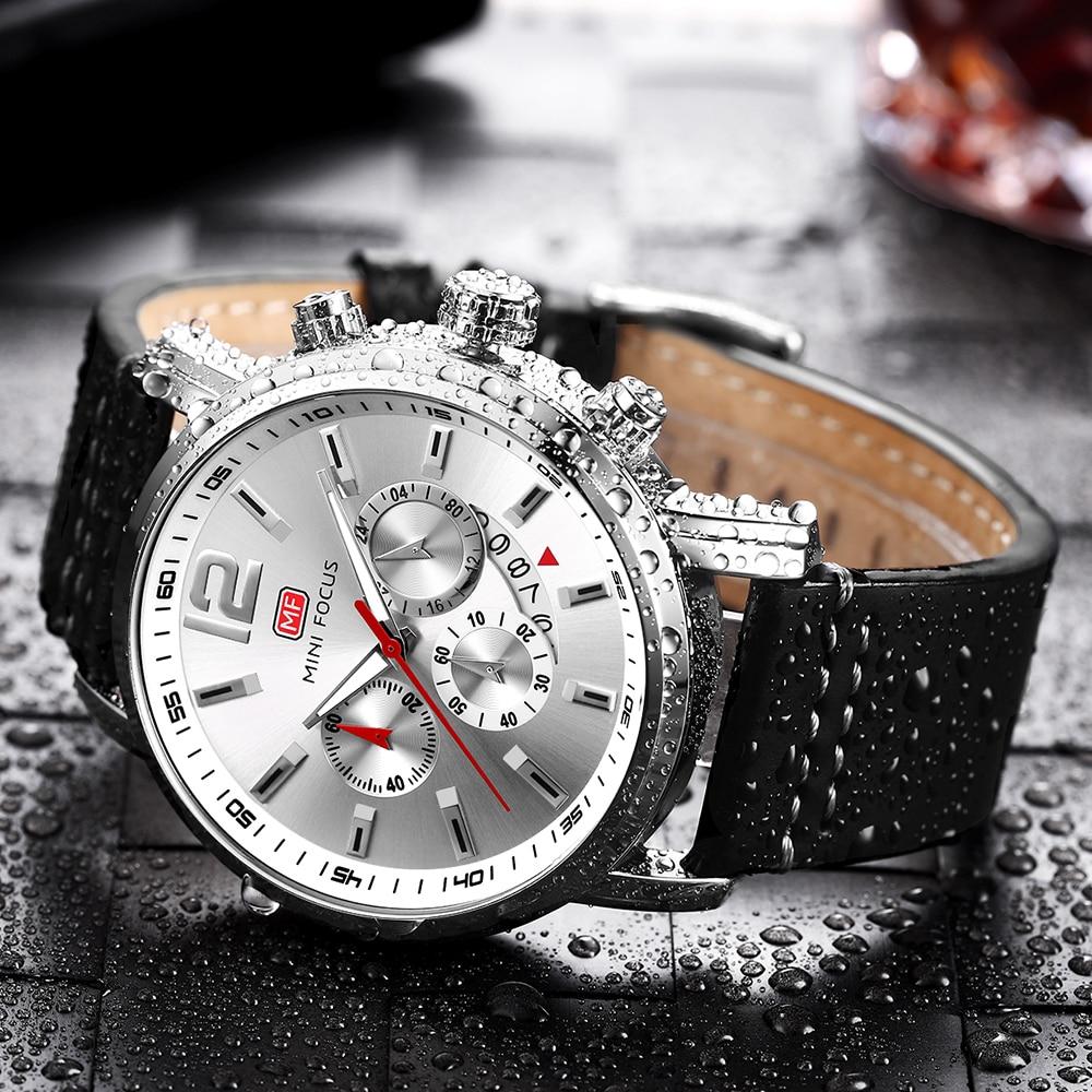 Luxury Whatch Men Men's Watches Military Quartz Watch Black Leather Sports male Clock Relogio Masculino Relojes Hombre 2020 wach