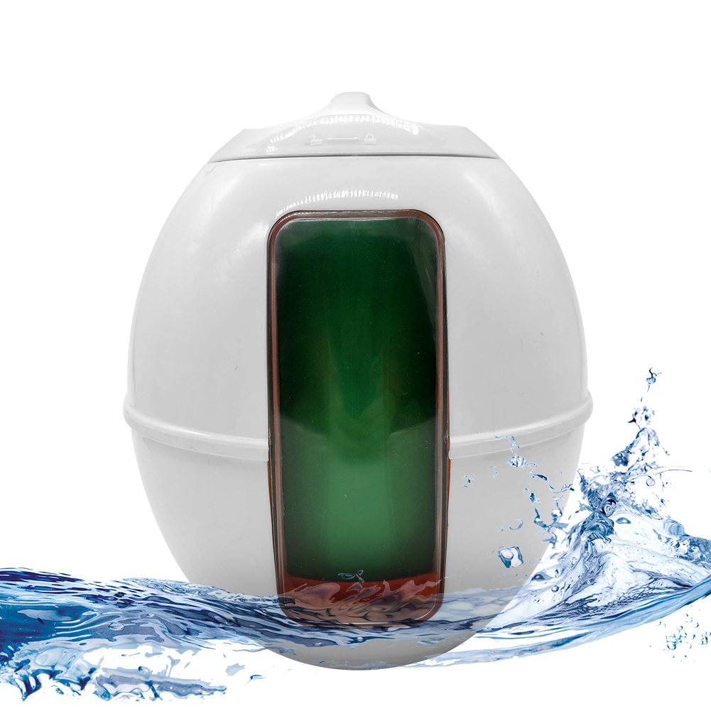 Swimming Pool Chemical Tablet Dispenser Floater Auto Equipment with Thermometer Automatic Drug Tablet Dispenser Box