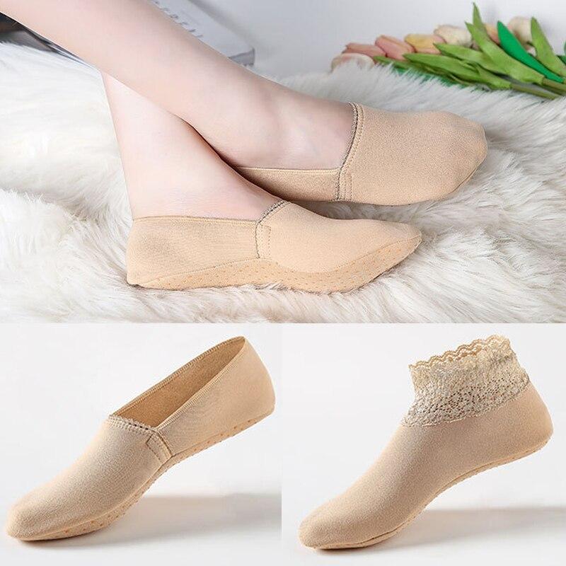 Женские повседневные носки, бархатные плотные носки, однотонные носки-лодочки, дышащие эластичные носки, женские зимние теплые низкие неви...
