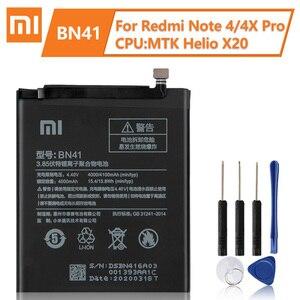 Image 4 - Xiaomi Originele Vervangende Batterij BM45 BM46 BN41 BN43 Voor Xiaomi Redmi Note 2 Batterij Redmi Note 3 Pro Batterij Redmi opmerking 4 4X