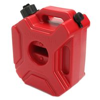 Motorcycle 3L Portable Jerry Can Gas Anti static Plastic Car Fuel Tank