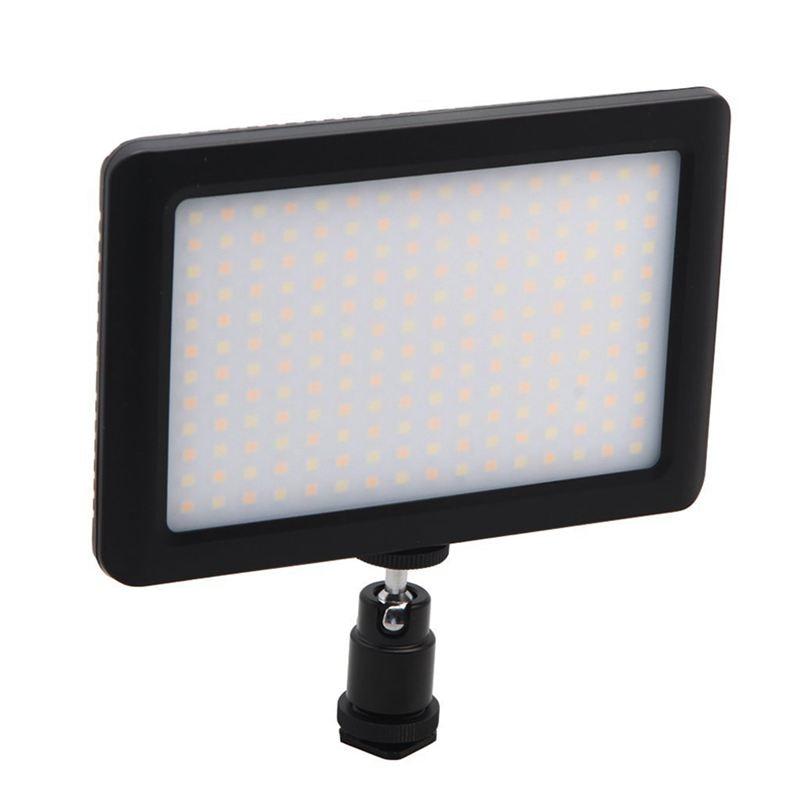 12W 192 LED Studio Video Continuous Light Lamp For Camera DV Camcorder Black