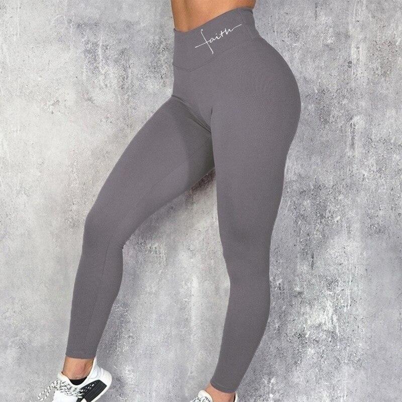 fitness elástica sem costura feminina empurrar para cima calças de ginásio