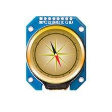 Ips 1.28 polegada 8/12pin spi tft lcd cor de solda placa de tela redonda nenhum módulo gc9a01 drive ic 240 (rgb) * 240 2.54mm conectar hd