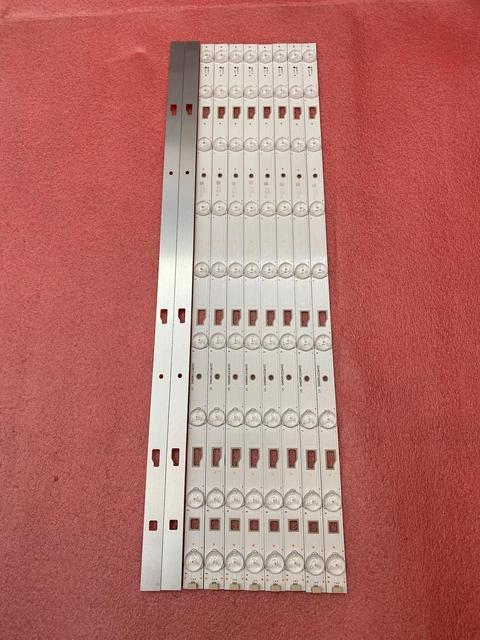 10 uds/lote tira de LED para iluminación trasera para D32TS7202 32HR331M09A5 V1, 9LED, 577mm, novedad