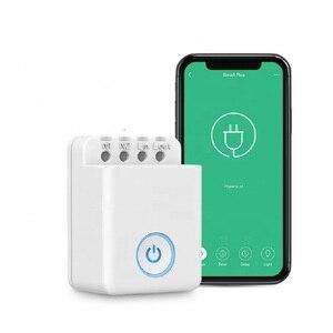 Image 1 - Broadlink Bestcon MCB1 1/2/3/4 шт Смарт маршрутизатор Wi Fi светильник переключатель Беспроводной Управление коробка работает с Siri и Alexa