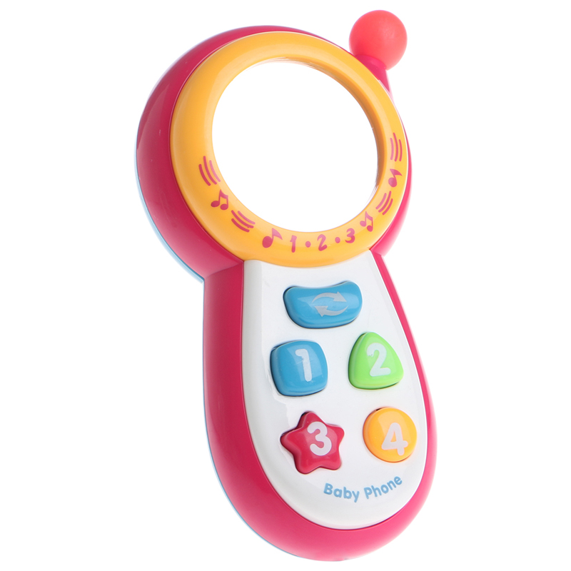 Baby Kids Learning Study Musical Sound Cell Phone Educational Mobile Toy Phone 72XC image
