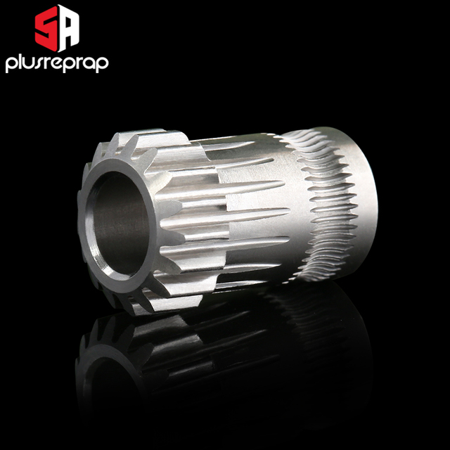 CR10 PRO Upgraded Dual Gear Extruder Double Pulleys Direct Aluminum Extruder for Ender 3/5 CR10S PRO 3D Printer Parts 2