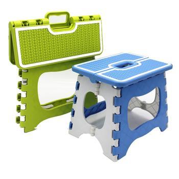 GloryStar składany stołek z tworzywa sztucznego o grubości Heavy Duty stołek do domu na zewnątrz odpoczynku narzędzie tanie i dobre opinie