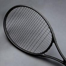 40-55 LBS Ultralight Black Tennis Rackets Carbon Raqueta Tenis Padel Racket Stringing 4 3/8 Racchetta Tennisracket racquet
