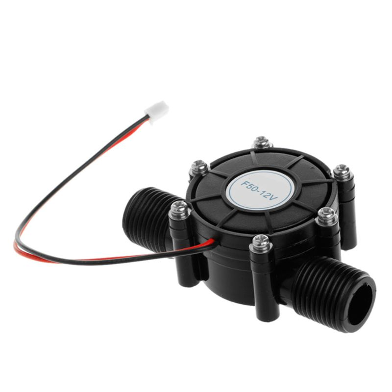 Mini 80V/5V/12V 10W Micro Water Turbine Generator for Charging Tools Supplies X4YD