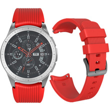 Silicone Watch with Samsung Galaxy 46mm 42mm Sport Replacement Bracelet Soft Gear Classic Wrist Strap