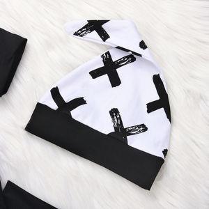 Комплект одежды из 3 предметов для маленьких мальчиков 0-24 месяцев, хлопковые топы для новорожденных мальчиков, комбинезон, штаны, леггинсы, одежда