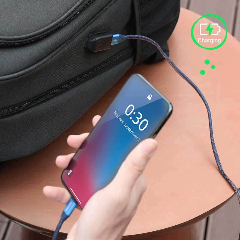 2019 Baru Kapasitas Besar 15.6 Inch Anti Pencurian Ransel Laptop Tahan Air Pria Tinggi Kualitas Bisnis Perjalanan Ransel Pria Kasual