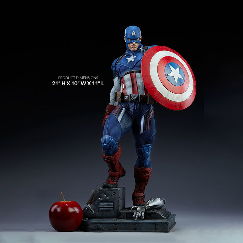 Captain GK Limited Statue Figure 1