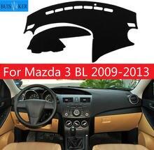 Коврик для приборной панели автомобиля коврик mazda 3 bl 2009