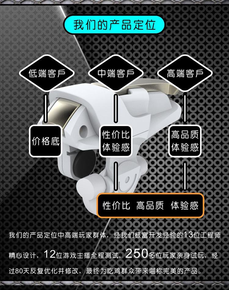 New Style chicken king Second Generation Chicken Useful Product Mobile Phone Game Handle Auxiliary