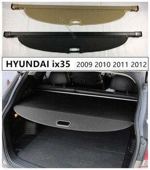 Rear Trunk Cargo Cover Security Shield For HYUNDAI ix35 2009 2010 2011 2012 High Qualit Auto Accessories Black Beige