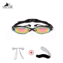 Swimming Goggles Professional Durable Silicone Swimming Goggles Anti-fog Anti-UV Waterproof adult arena Swimming Glasses colored