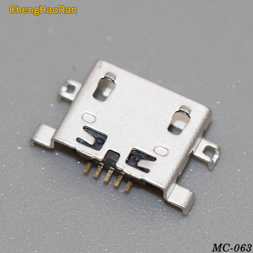 1pcs Micro 5P usb connector poort opladen voor Voor Lenovo IdeaTab S6000F S6000 Yoga 8 10 Tablet/ voor cer ICONIA B3-A20