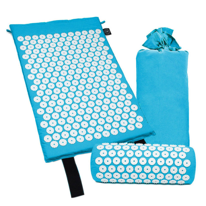 SEC88 Acupressure Massage Mat with Pillow set for Stress Pain and Tension Relief 21