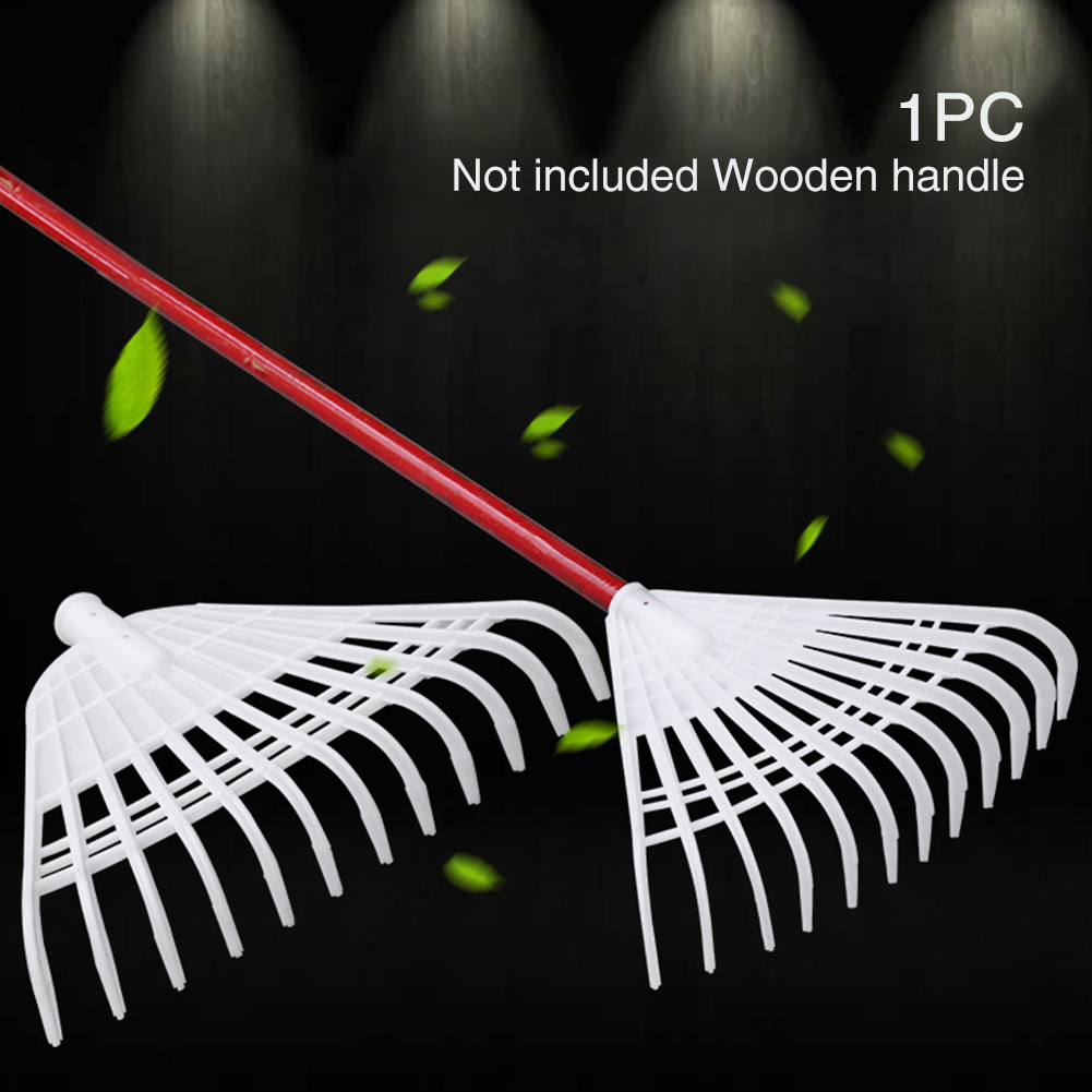 Small Working Grass Replacement Garden Tool Leaf Claw Cleaning Yard Plastic Shrub Heavy Duty Lawn Hand Rake