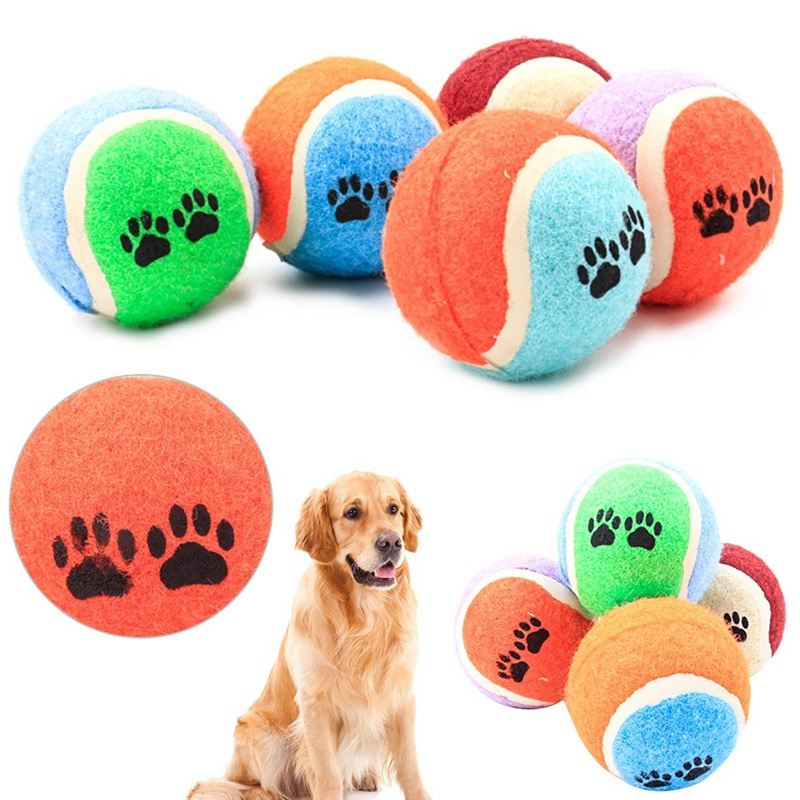 Training Tennis Ball Dog Practice Ball Durable School Club Competition Exercises Pet Chew Toy Sports Tournament Toy Supplies