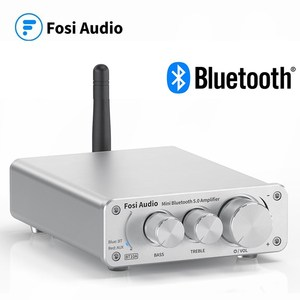 Fosi Audio BT10A Bluetooth 5,0 стерео усилитель приемник класса D Мини HiFi Интегрированный усилитель для домашних динамиков 50 Вт * 2 высоких и низких частот