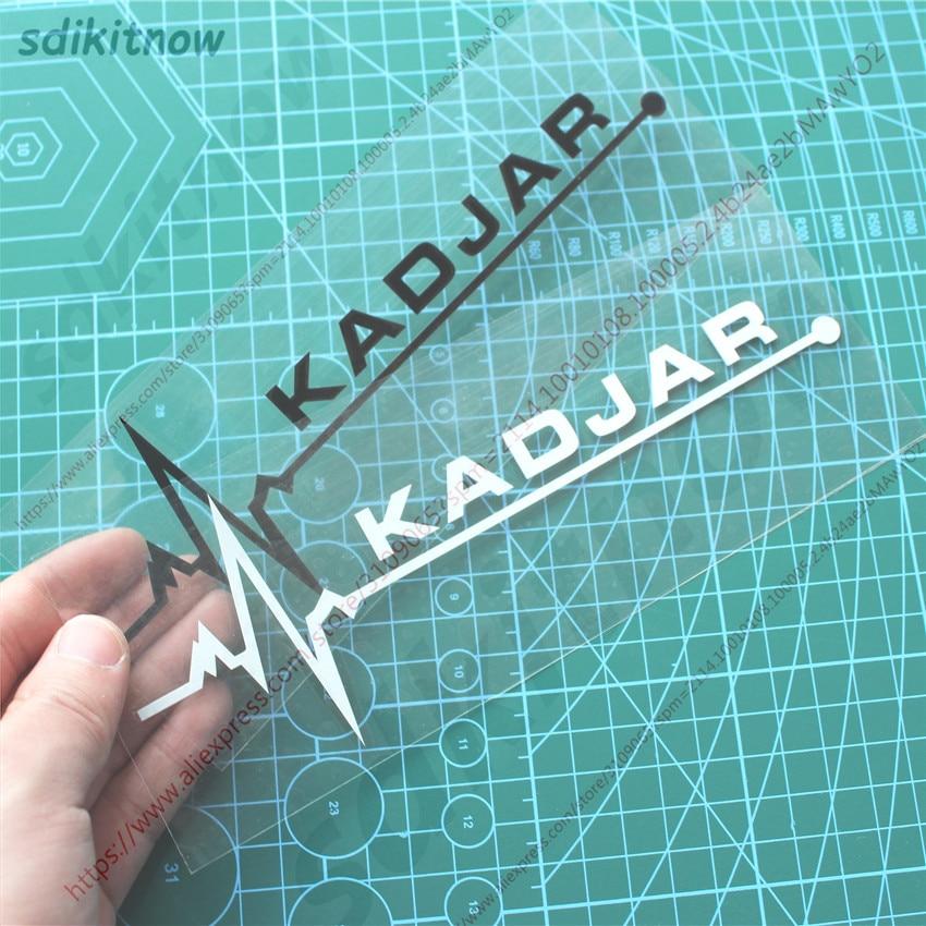 New Heart Car Decal Sticker Styling Windows Door Decoration For Renault Kadjar 2017 2018 2019 Accessories