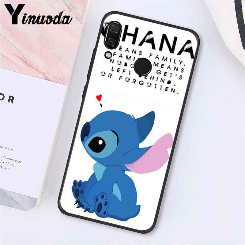 Yinuoda Câu Chuyện Cổ Tích Miếng Dán Lilo Stitch Ốp Lưng Điện Thoại Xiaomi Redmi8 4X 6A S2 Đi Redmi 5 5Plus Note8 note5 7 Note8Pro