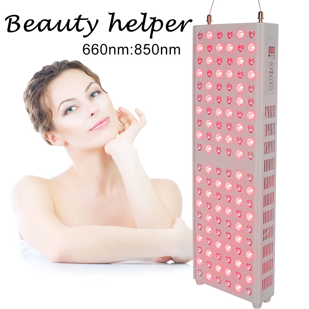 Led Light Therapy 850nm 660nm TL200 Touch Screen And Time Display Red Therapy Light Skin Care