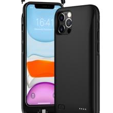 Чехол для iPhone 12 Pro Max, чехол для аккумулятора, чехол для зарядки внешнего аккумулятора для iPhone 12 Mini, тонкий чехол для зарядки аккумулятора