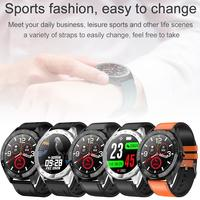 Q30 Full Touch Color Screen Smart Bracelet Heart Rate Sleep Sports Call Reminder Pressure Monitor Waterproof IP67 ECG Smart Watc