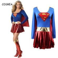 Costume Superwoman Party Dress Girls Super Girl Suit Adult High Quality Superhero Costumes Wonder Women Dress Elegant Super Hero