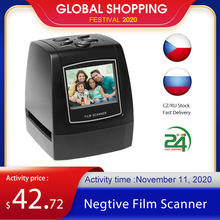 """Protable Negative Film Scanner 35/135mm Rutsche Film Konverter Foto Digitale Bild Viewer mit 2.4 """"LCD Bauen in der Bearbeitung Software"""