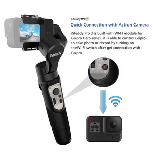Image 5 - Hohem iSteady Pro 3 3 Axis Splash Proof Handheld Gimble for Gopro Hero 8 7/6/5/4/3 DJI Osmo Action SJCAM YI Cam Action Camera