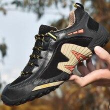 38-47 Outdoor Lover Trekking Shoes Men Waterproof Hiking Shoes